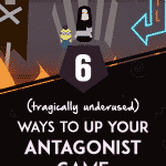 How to write better antagonists for your novel
